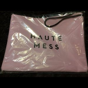 "NEW MILLY ""HAUTE MESS"" ZIPPERED ACCESSORY BAG"